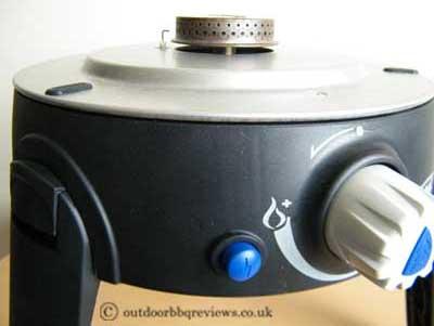 Cadac Safari Chef two ignition button