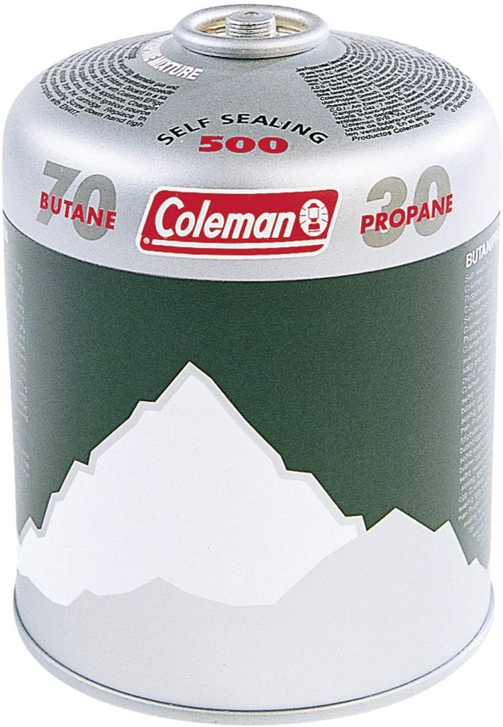 coleman gas canister