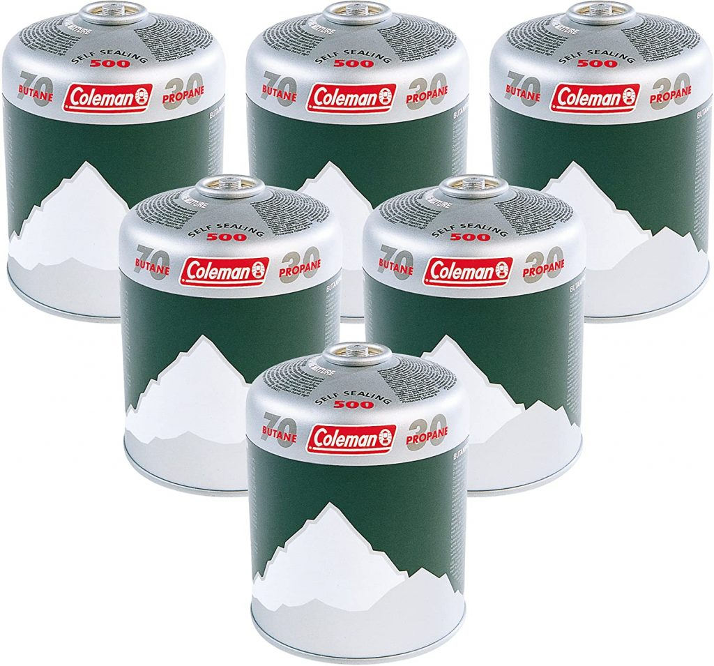 coleman gas canister pack